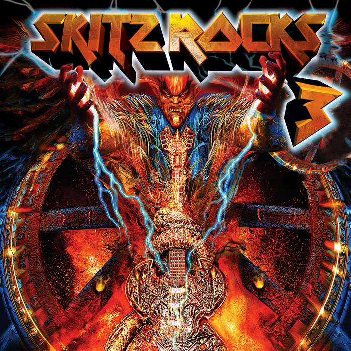 SPENCER, Andrew/THE VAMPROCKERZ - Skitz Rocks The World 3 (mixed and unmixed tracks)