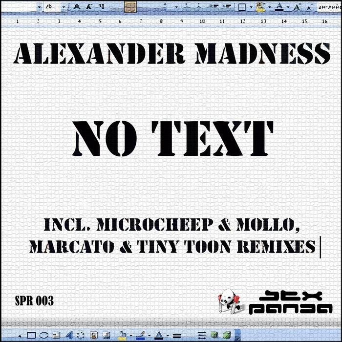 MADNESS, Alexander - No Text