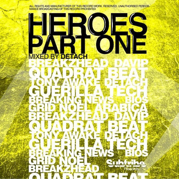 DETACH/VARIOUS - Heroes (Part One)