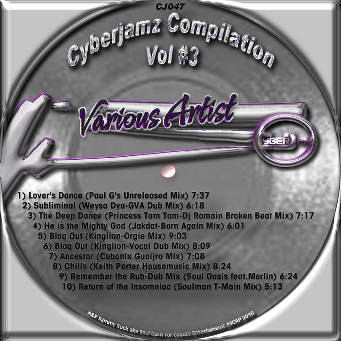 VARIOUS - Cyberjamz Compilation Vol # 3