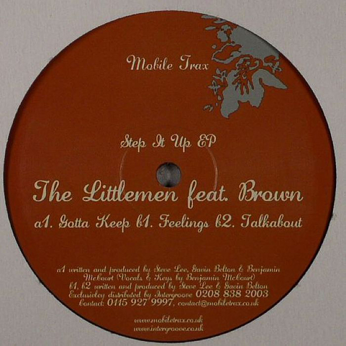LITTLEMEN, The feat BROWN - Step It Up EP
