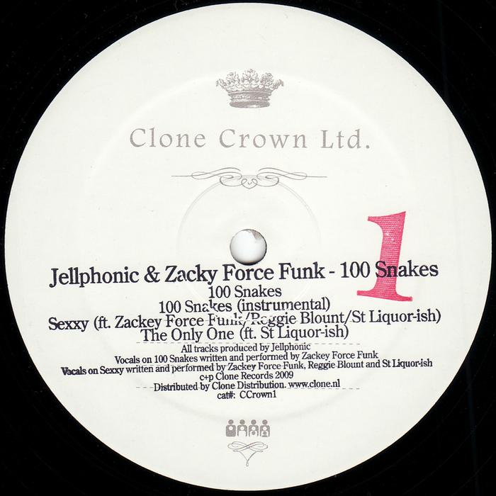 JELLPHONIC feat ZACKY FORCE FUNK - 100 Snakes