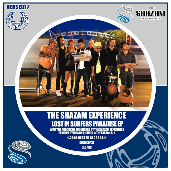 SHAZAM EXPERIENCE, The - Lost In Surfers Paradise EP