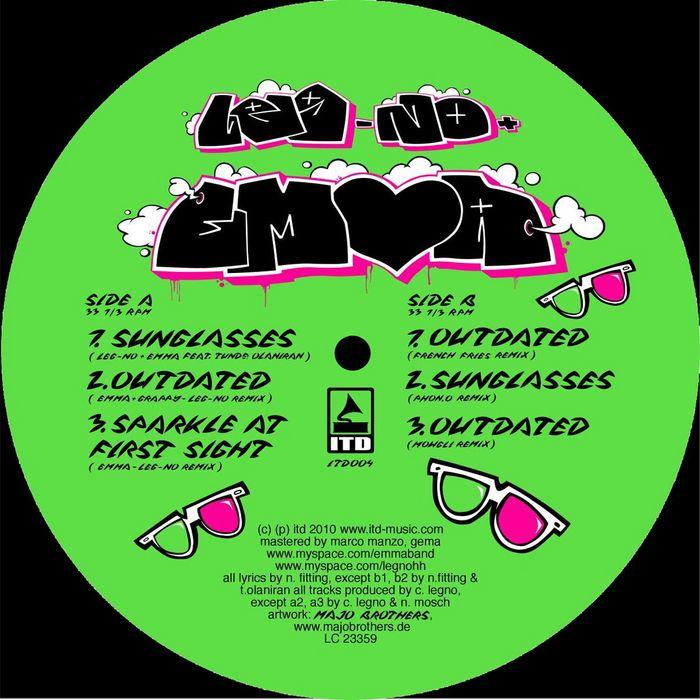 LEG NO & EMMA - Sunglasses EP