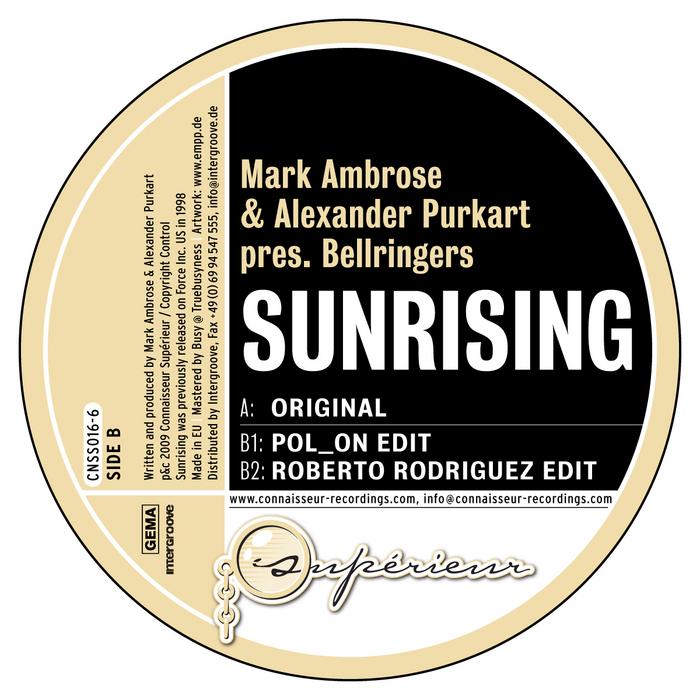 AMBROSE, Mark/ALEXANDER PURKART presents BELLRINGERS - Sunrising