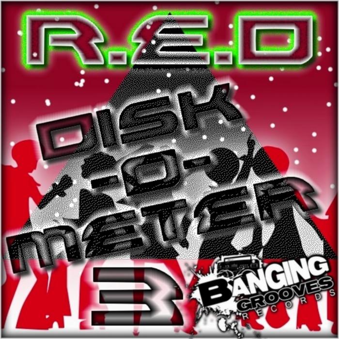 RED - Disk-O-Meter 3