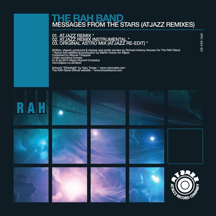 RAH BAND, The - Messages From The Stars (Atjazz remixes)