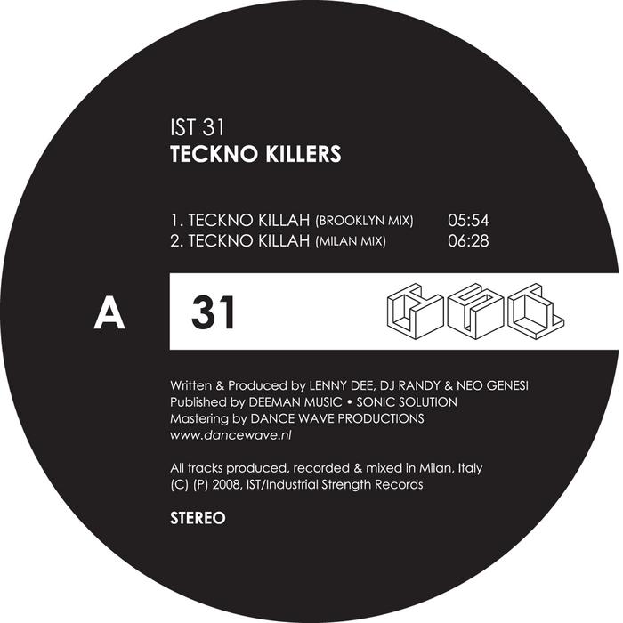 DEE, Lenny/RANDY/NEO GENESI - Techno Killah