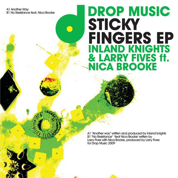 INLAND KNIGHTS/LARRY FIVES feat NICA BROOKE - Sticky Fingers EP