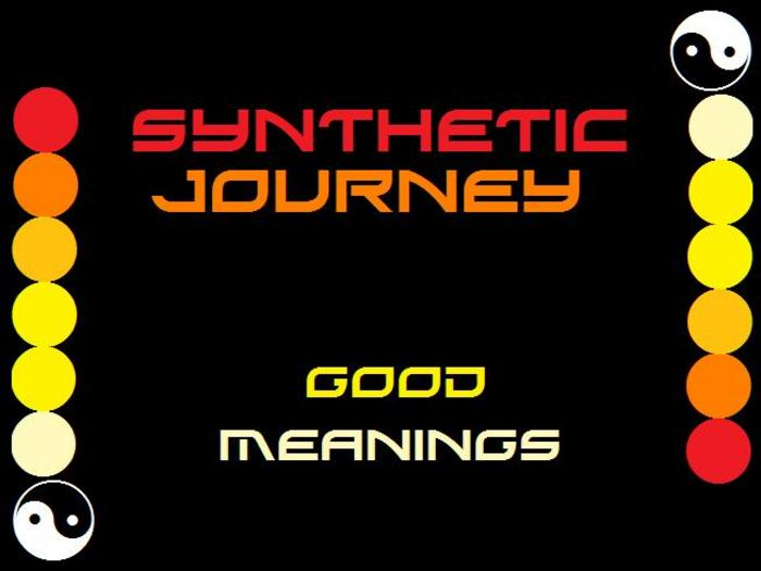 SYNTHETIC JOURNEY - Good Meanings
