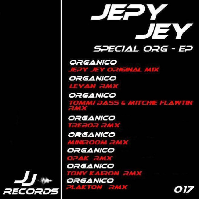 JEPY JEY - Special Org EP