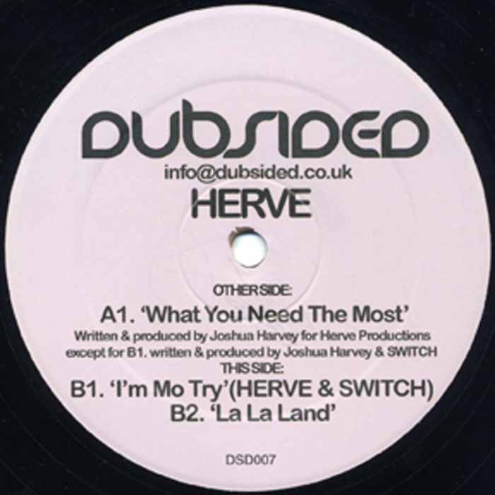 HERVE - What You Need The Most