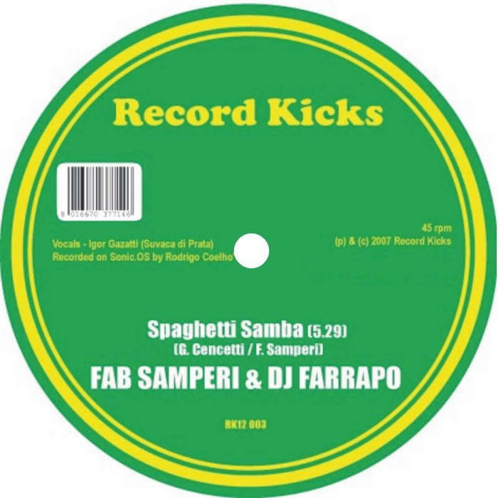 FAB SAMPERI/DJ FARRAPO - Spaghetti Samba