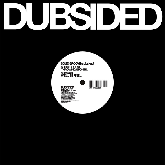 SOLID GROOVE/SUBSKRPT - Throwing Stones