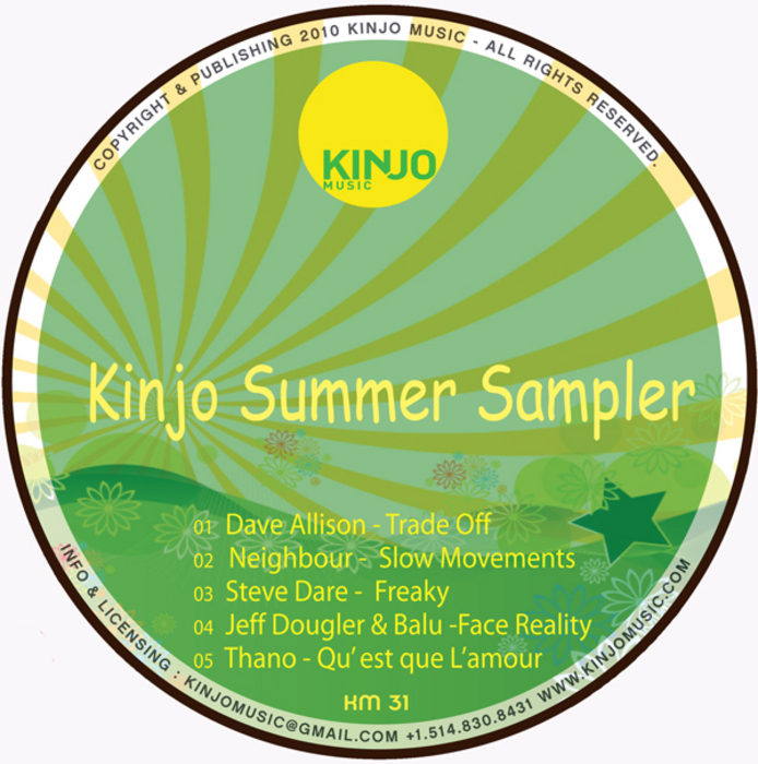 ALLISON, Dave/JEFF DOUGLER/BALU/NEIGHBOUR/STEVE DARE/THANO VESSI - Kinjo Summer Sampler