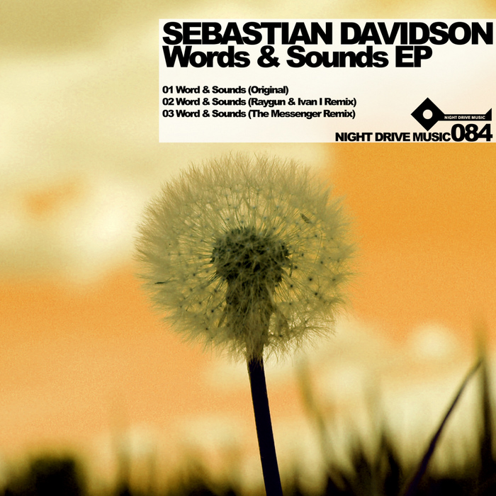 DAVIDSON, Sebastian - Words & Sounds EP