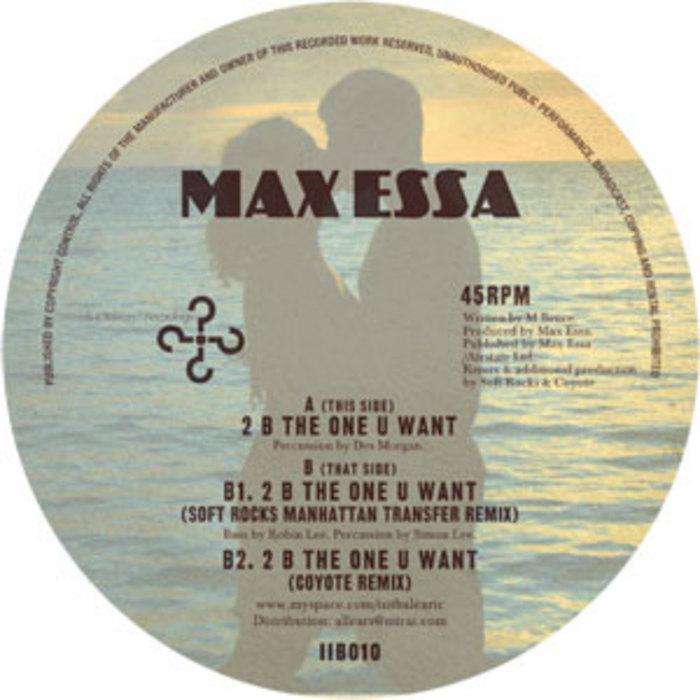 ESSA, Max - 2 Be The One U Want