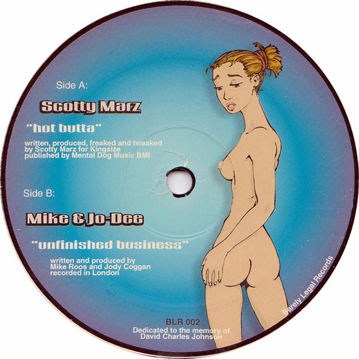 SCOTTY MARZ/MIKE & JODEE - Hot Butta