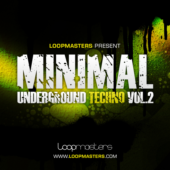 LOOPMASTERS - Minimal Underground Techno Vol 2 (Sample Pack WAV/APPLE/LIVE/REASON)