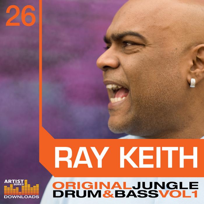 KEITH, Ray - Original Drum & Bass Vol 1 (Sample Pack WAV/APPLE/LIVE/REASON)
