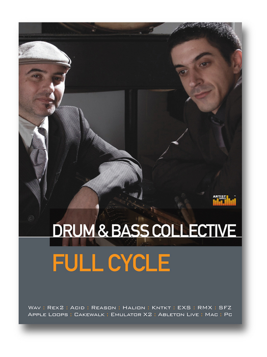 FULL CYCLE - Drum & Bass Collective (Sample Pack WAV/APPLE/LIVE/REASON)