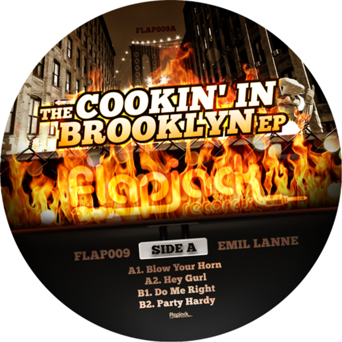 LANNE, Emil - The Cookin' In Brooklyn EP