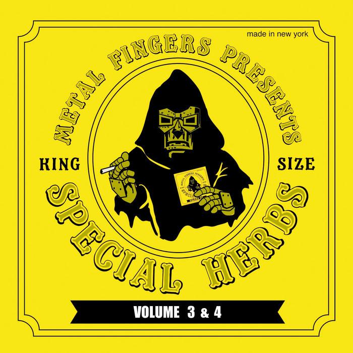 MF DOOM - Metal Fingers Presents Special Herbs: Vol 3 & 4