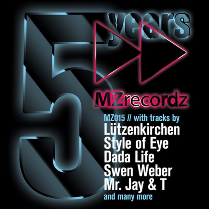 MR JAY & T/TEAM MONSTER/TORBEN BOSWICH - 5 Years Mzrecordz