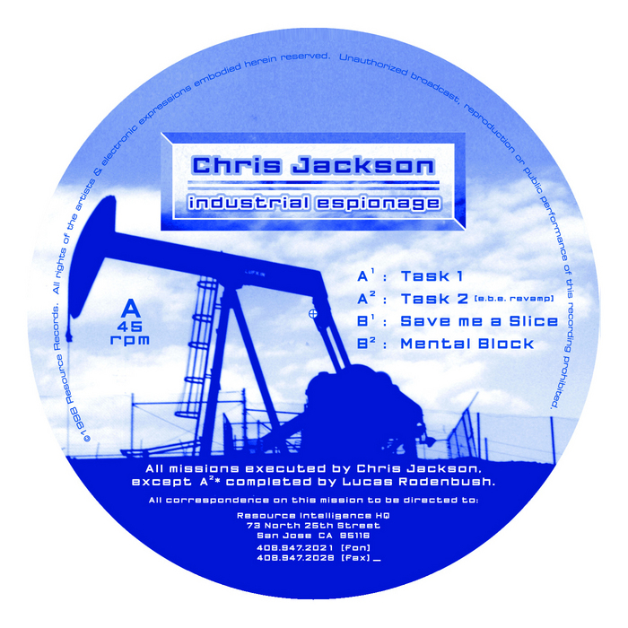 JACKSON, Chris - Industrial Espionage