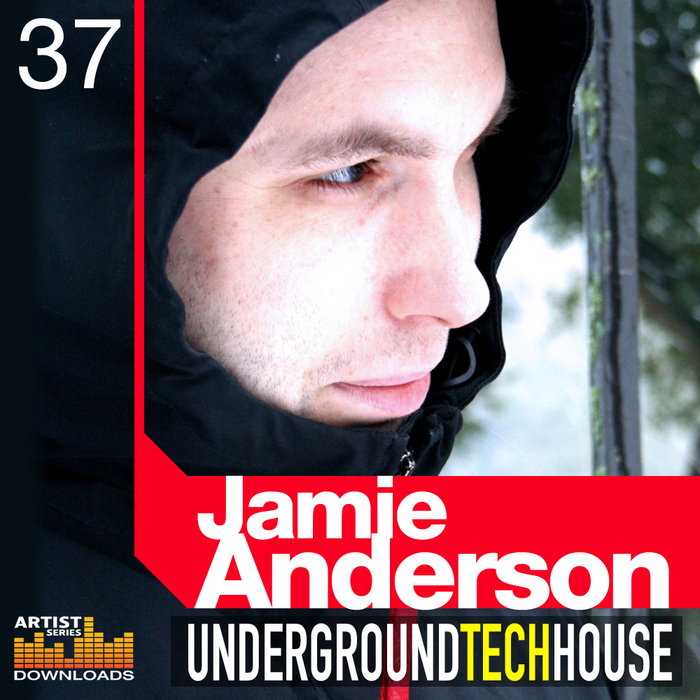 ANDERSON, Jamie - Underground Tech House Vol 1 (Sample Pack WAV/APPLE/LIVE/REASON)