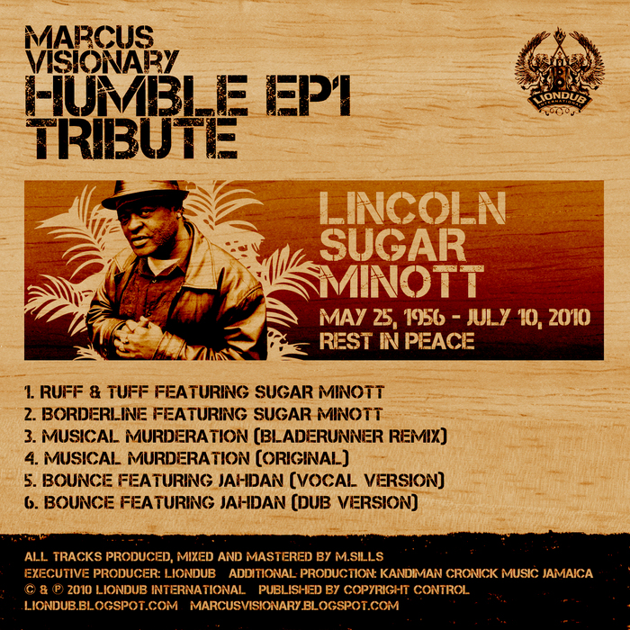 VISIONARY, Marcus - Humble EP 1