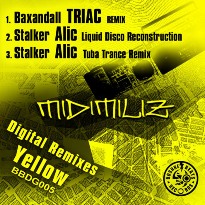 MIDIMILIZ - The Remixes Yellow