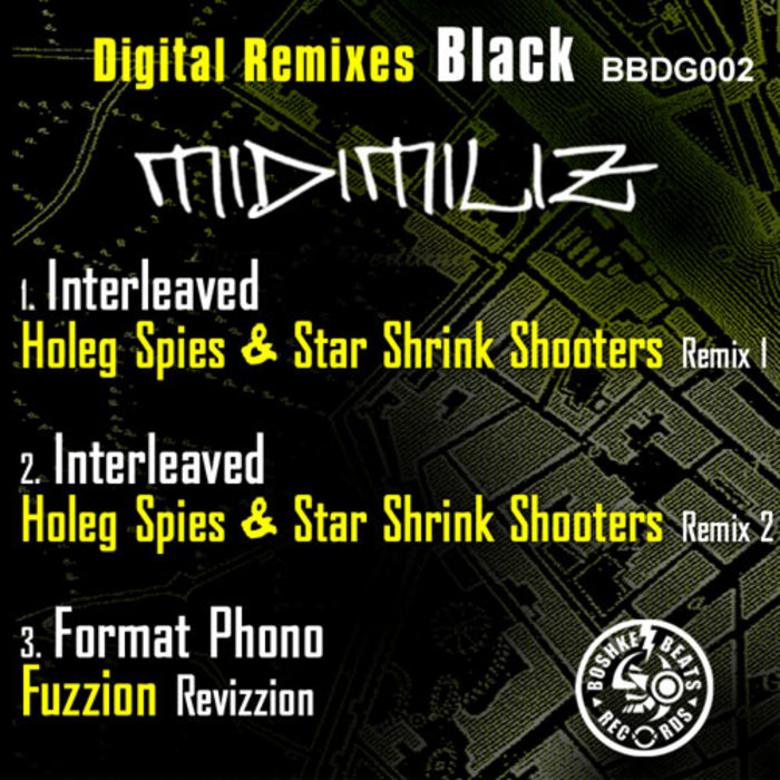 MIDIMILIZ - The Remixes Black