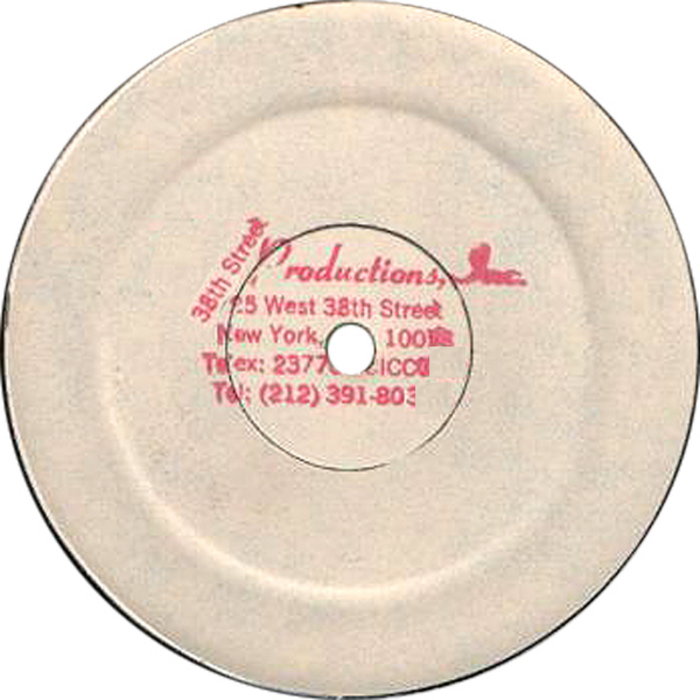 38TH STREET PRODUCTIONS INC - Lovely Dub