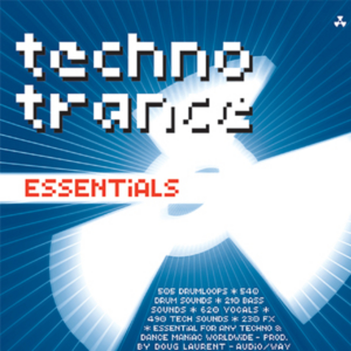 VARIOUS - Techno Trance Essentials 2595 Essential Beats Sounds Vocals & FX