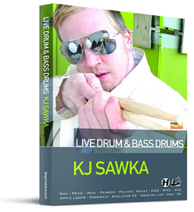 SAWKA, KJ - Live Drum & Bass Drums (Sample Pack WAV/APPLE/LIVE/REASON)