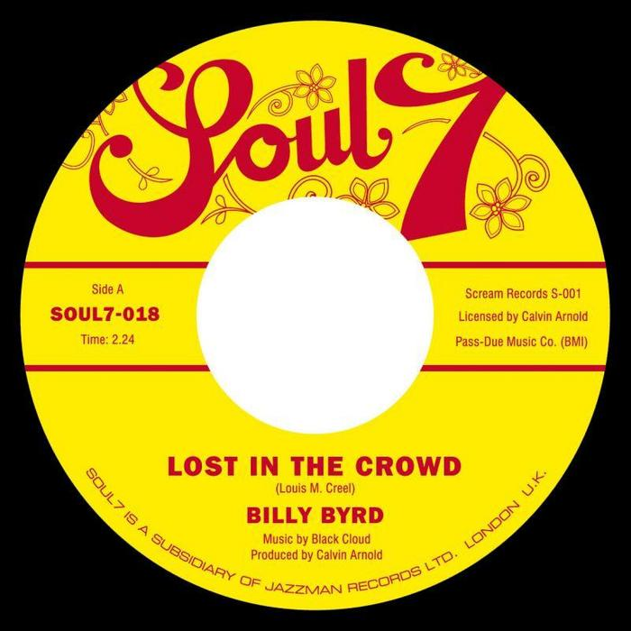 BYRD, Billy - Lost In The Crowd