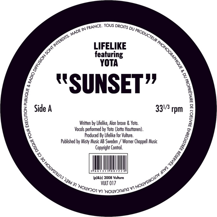 LIFELIKE feat YOTA - Sunset