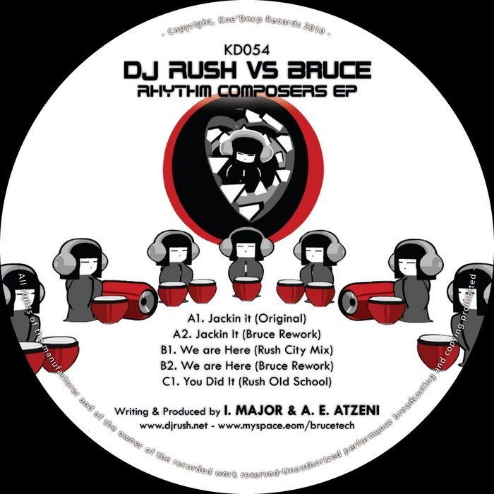 DJ RUSH vs BRUCE - Rhythm Composers EP