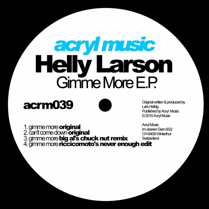 LARSON, Helly - Gimme More