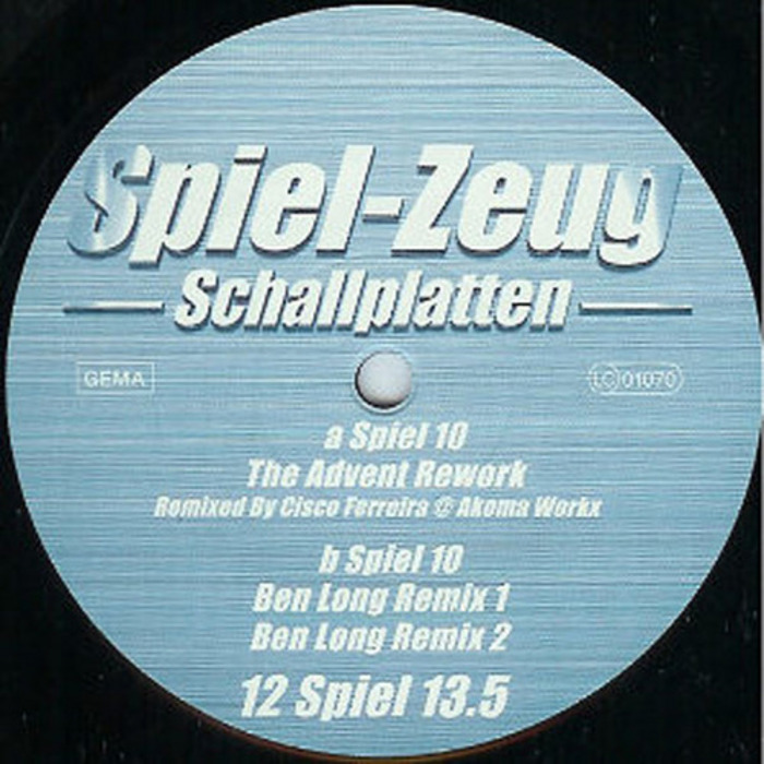 SCHUMACHER, Thomas - Spiel 10 (remixed)