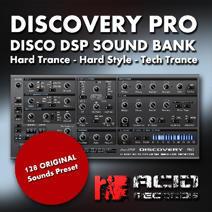 ACID RECORDS - Discovery Pro: Disco DSP Sound Bank (Sample Pack)
