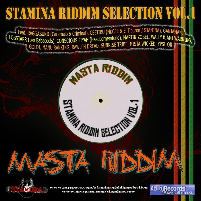 VARIOUS - Stamina Riddim Selection: Vol 1 (Masta Riddim)