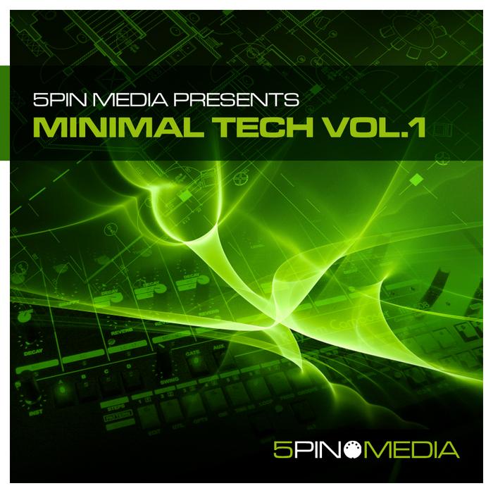 5PIN MEDIA - Minimal Tech Vol 1 (Sample Pack WAV/MIDI)