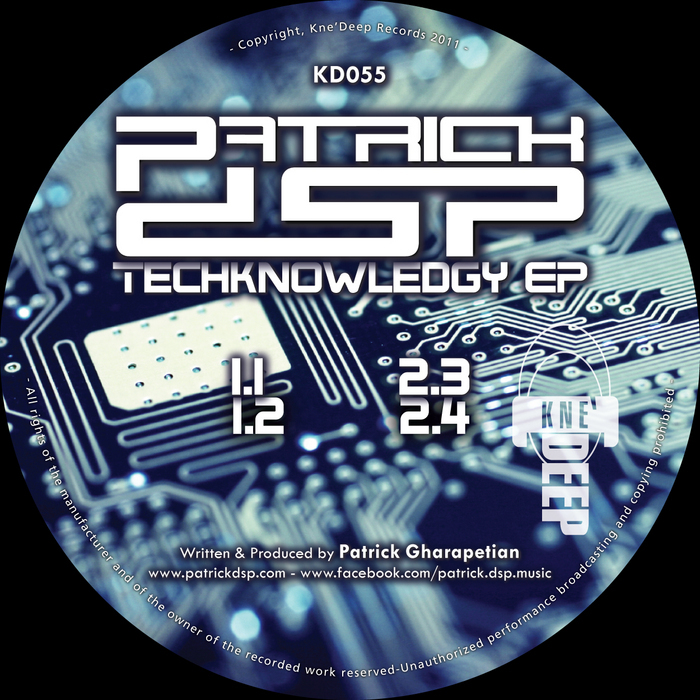 PATRICK DSP - Techknowledgy EP