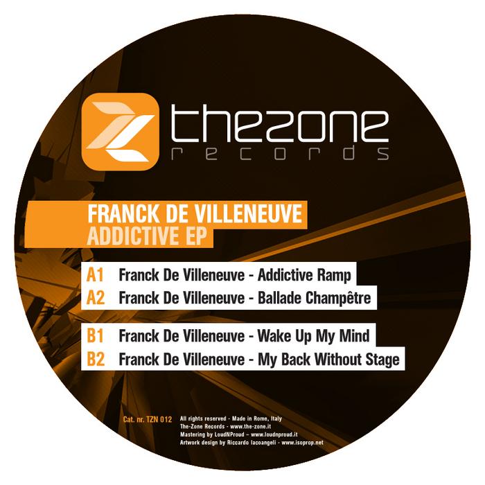 DE VILLENEUVE, Franck - Addictive EP