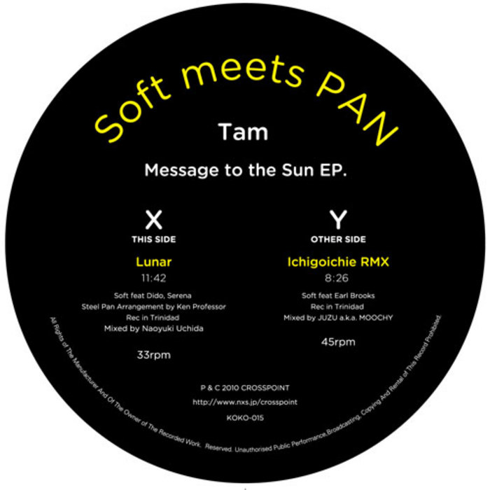 SOFT meets PAN - Tam Message To The Sun EP
