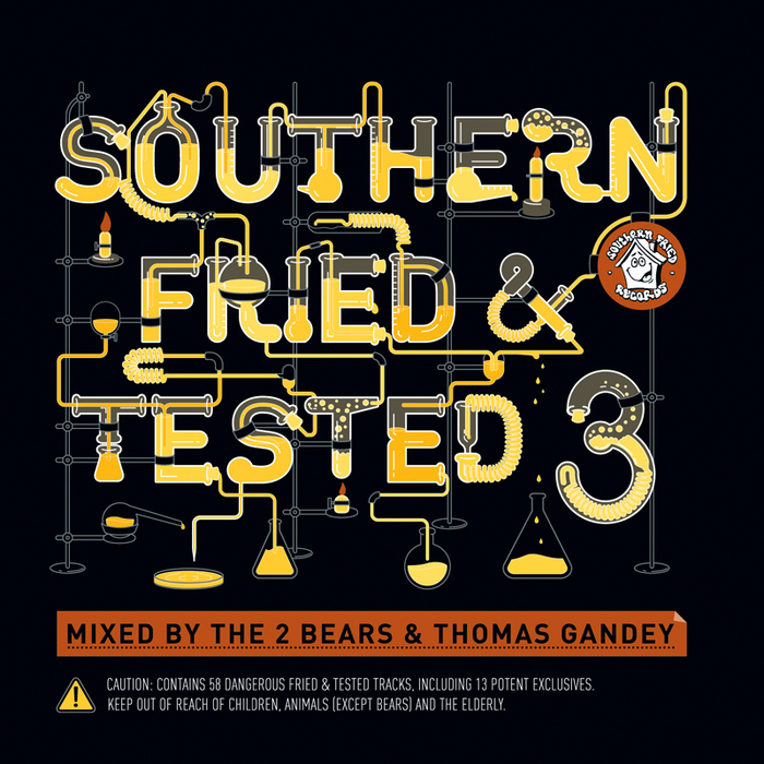 VARIOUS - Southern Fried & Tested 3 (unmixed version)