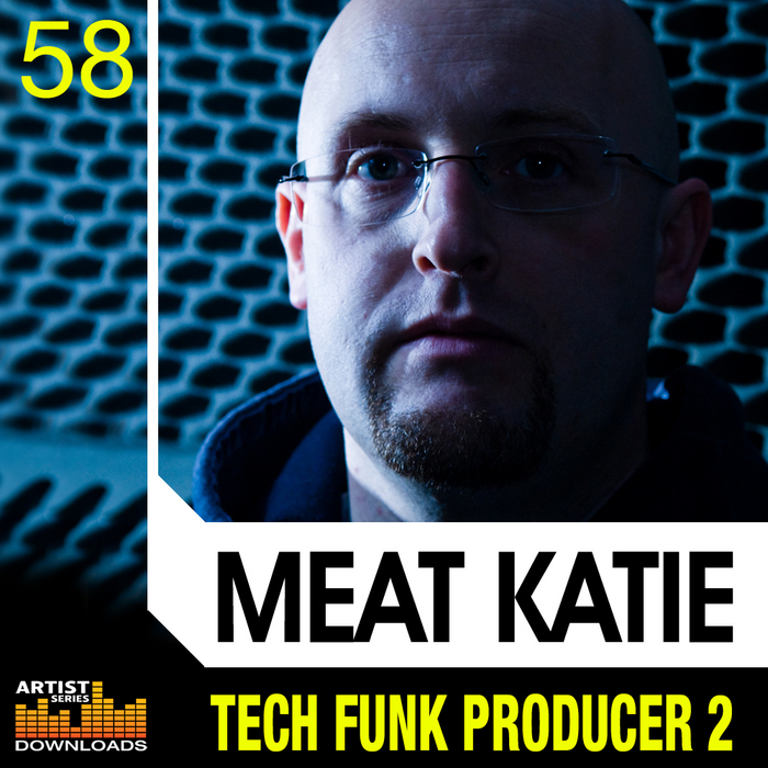 MEAT KATIE - Tech Funk Producer Vol 2 (Sample Pack WAV/APPLE/LIVE/REASON)