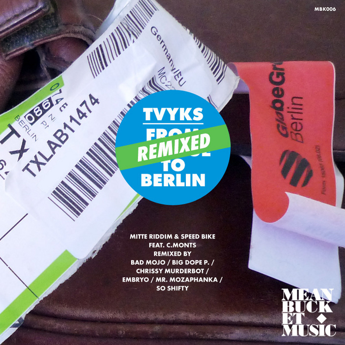 TVYKS feat C MONTS - From Prague To Berlin (Remix)